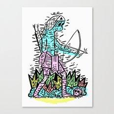 Bow man Canvas Print