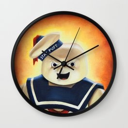 Stay Puft Marshmallow Man Wall Clock