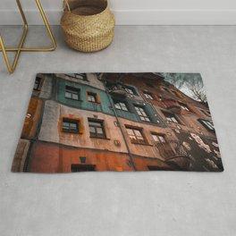 Hundertwasser museum Rug