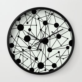 We're All Connected Wall Clock