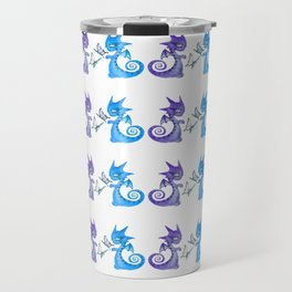 Dragons and butterflies Travel Mug
