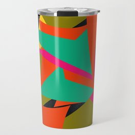 ALL OVER THE PLACE Travel Mug