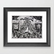 Circus of life II Framed Art Print