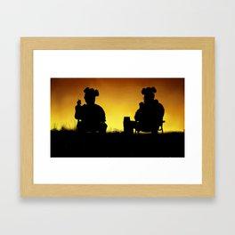 Breaking Bad Sunset Framed Art Print