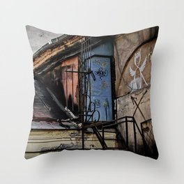 Where they live Throw Pillow