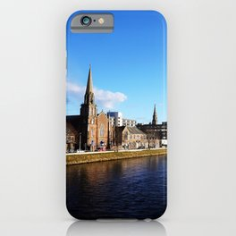 On The Bridge - Inverness - Scotland iPhone Case