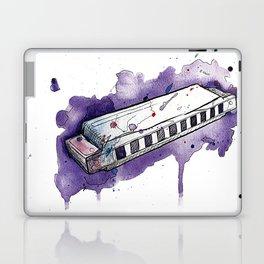 Watercolor Harmonica Laptop & iPad Skin