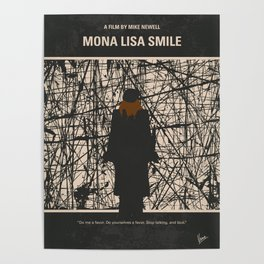 No914 My Mona Lisa Smile minimal movie poster Poster