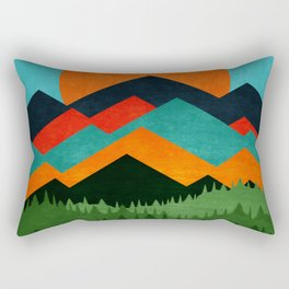 Chill Sunny Day ||| Rectangular Pillow