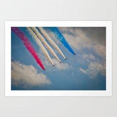 RAF Red Arrows #2 Art Print