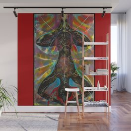 The Hanging Woman Wall Mural