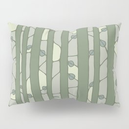 Into The Woods green Pillow Sham