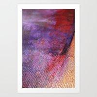 Red Vastness Art Print