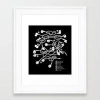 pocket Framed Art Prints featuring Sailor's Pocket by Tobe Fonseca