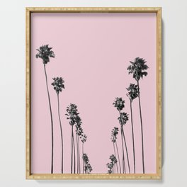 Palm trees 13 Serving Tray