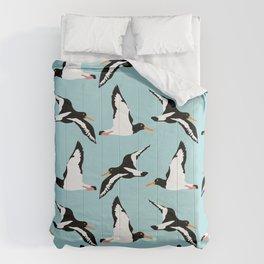 Seabirds in flight Comforters