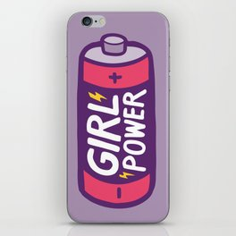 Girl Power iPhone Skin