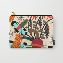 TROPICAL DESIGN Carry-All Pouch
