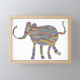 rainbow child Framed Mini Art Print