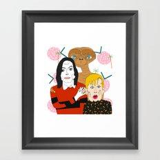 Home alone? Framed Art Print