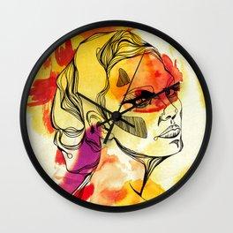 Woman #02 Wall Clock