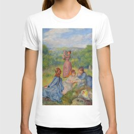 """Auguste Renoir """"Jeunes filles jouant au volant"""" T-shirt"""