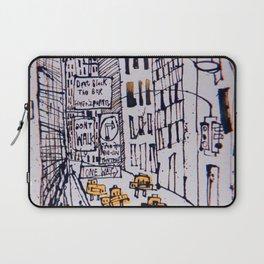 Retro New York City Sketch Laptop Sleeve