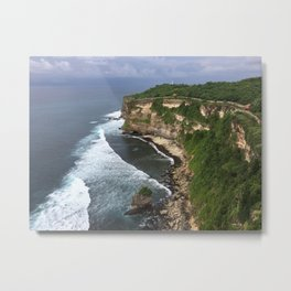 Bali ocean coast - Beaches Metal Print