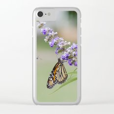 Lavender 3 Clear iPhone Case
