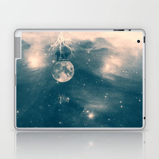 One Day I Fell from My Moon Cottage... Laptop & iPad Skin