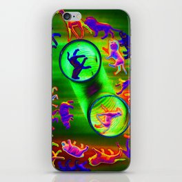 sacrificial circle iPhone Skin