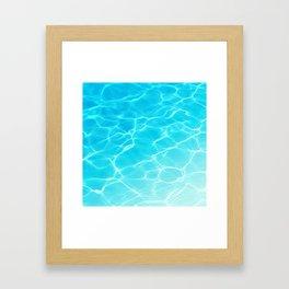 Chasing Summer 01 Framed Art Print