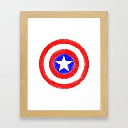 Shield (W) Framed Art Print