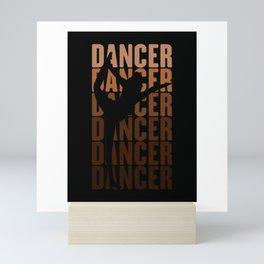 Yoga Dancer Mini Art Print
