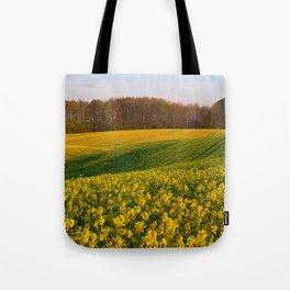 Blooming in yellow 8 Tote Bag
