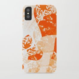 Heart - Orange iPhone Case