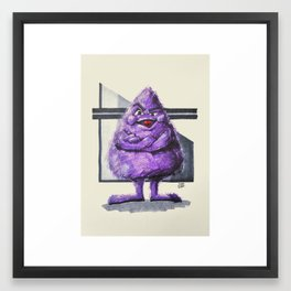 Grimmer Framed Art Print
