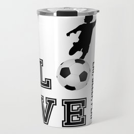 Eat, Sleep, Play  Love Volleyball Travel Mug