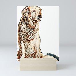 cute dog Mini Art Print