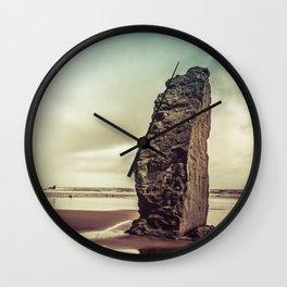 Ocean Beach - Sacred Space by the Sea Wall Clock