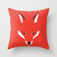 Foxy Shape Throw Pillow