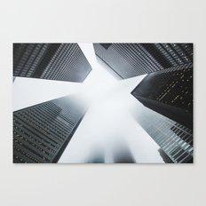 Oblivion Glass Canvas Print