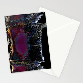 Wall of Night Stationery Cards