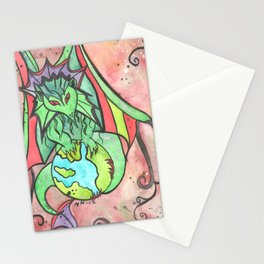 Earth Keeper Dragon Stationery Cards