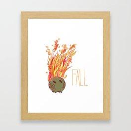 Fall Kokedama Sprite Framed Art Print