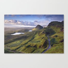 The Lie of the Land Canvas Print