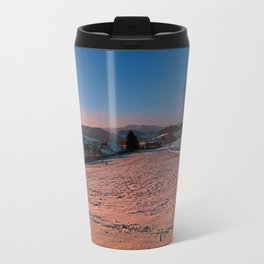 A winter wonderland sundown | landscape photography Travel Mug