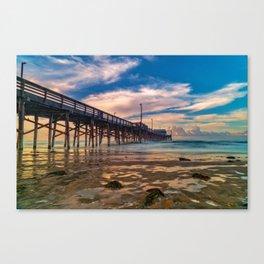 Northside Newport Pier Canvas Print