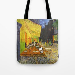 Snoopy meets Van Gogh Tote Bag