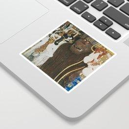 BEETHOVEN FRIEZE - GUSTAV KLIMT Sticker